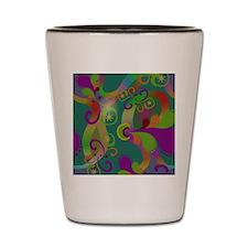 Abstract Art Shot Glass