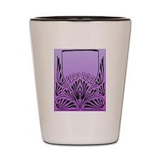 Purple Art Shot Glass