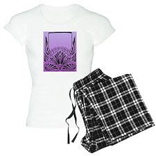 Purple Art Pajamas