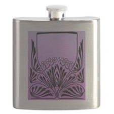 Purple Art Flask