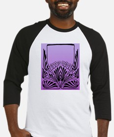 Purple Art Baseball Jersey