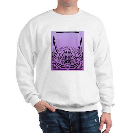 Purple Art Sweatshirt
