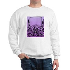Purple Art Sweatshirt