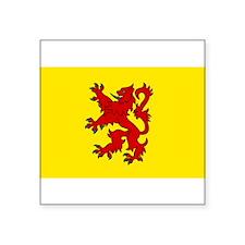 Scottish Oval Sticker