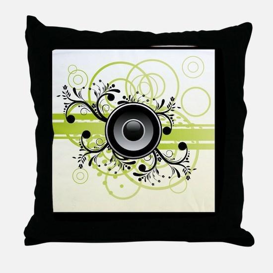 Speakers Art Throw Pillow
