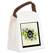 Speakers Art Canvas Lunch Bag