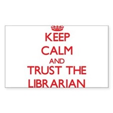 Keep Calm and Trust the Librarian Decal