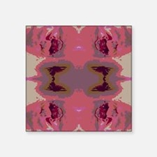 "Abstract Art Square Sticker 3"" x 3"""