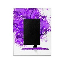 Purple Tree Art Picture Frame