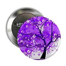 "Purple Tree Art 2.25"" Button"