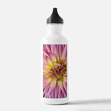 Dahlia Flower Water Bottle