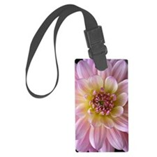 Dahlia Flower Luggage Tag