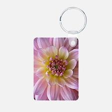Dahlia Flower Keychains