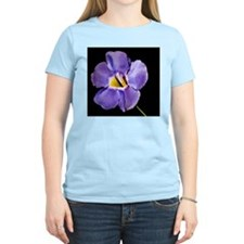 Blue Macro Flower T-Shirt