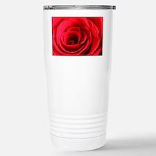Red Rose Stainless Steel Travel Mug
