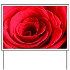 Red Rose Yard Sign