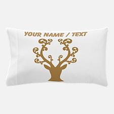 Custom Brown Deer With Fancy Antlers Pillow Case