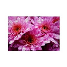 Flowers Rectangle Magnet