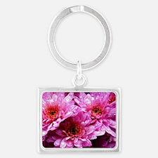Flowers Landscape Keychain