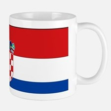 Croatia Flag Small Small Mug