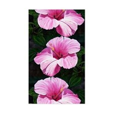 Pink Hibiscus Decal