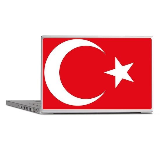 Turkey Flag Laptop Skins
