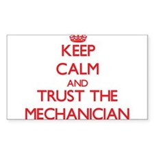 Keep Calm and Trust the Mechanician Decal