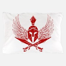 Wings of glory red Pillow Case