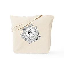 puggle in crest Tote Bag