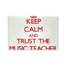 Keep Calm and Trust the Music Teacher Magnets