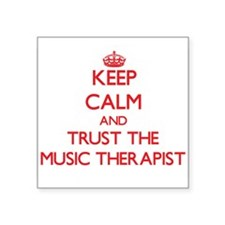 Keep Calm and Trust the Music Therapist Sticker
