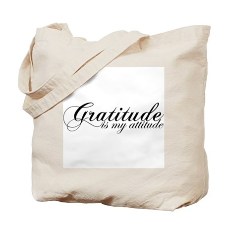 Gratitude is my Attitude Tote Bag