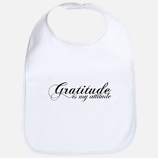 Gratitude is my Attitude Bib