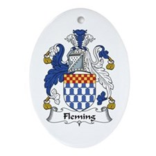 Fleming Oval Ornament