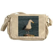 Seagull looking at you Messenger Bag