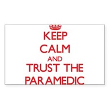 Keep Calm and Trust the Paramedic Decal