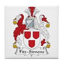 Fitz-Simons Tile Coaster