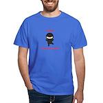 Ninja College Student Dark T-Shirt