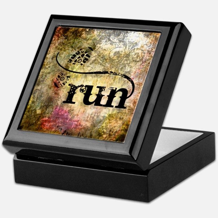 Run by Vetro Jewelry & Designs Keepsake Box