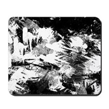 Grungy Abstract splashes Mousepad