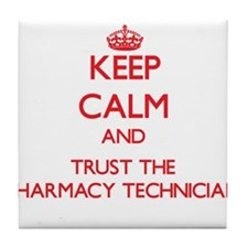 Keep Calm and Trust the Pharmacy Technician Tile C
