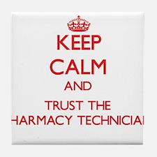 Keep Calm and Trust the Pharmacy Technician Tile C