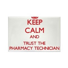 Keep Calm and Trust the Pharmacy Technician Magnet