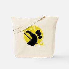 Galaxy hitchhiker Tote Bag