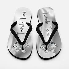 Twinkle Toes Wedding Flip Flops