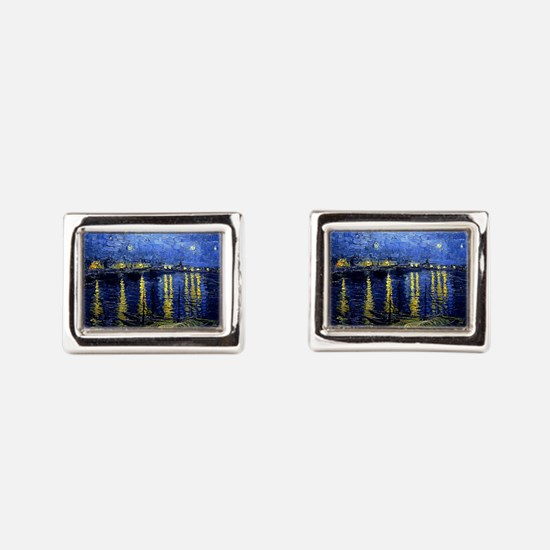 Starry Night Over the Rhone, Famous Pain Cufflinks