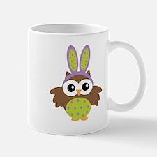 Easter bunny owl Mugs