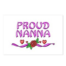 Proud Nanna Postcards (Package of 8)