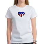 Heart USA Women's T-Shirt