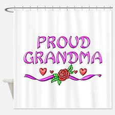 Proud Grandma Shower Curtain